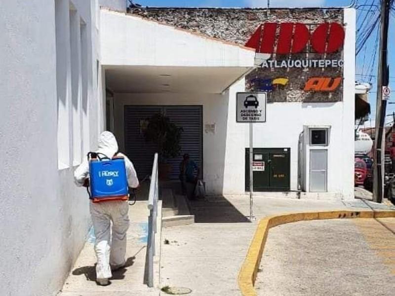 Cierran espacios públicos en Tlatlauquitepec ante contingencia de coronavirus