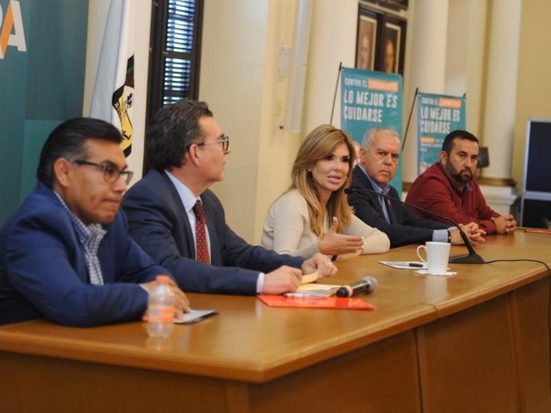 Cierran filas Estado, municipios y empresarios contra Coronavirus