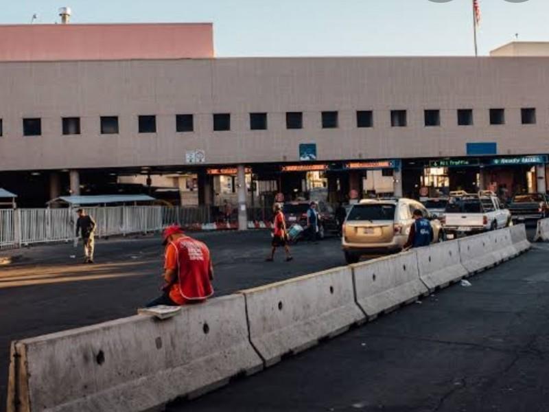 Cierran frontera hasta 21 de octubre México-EU