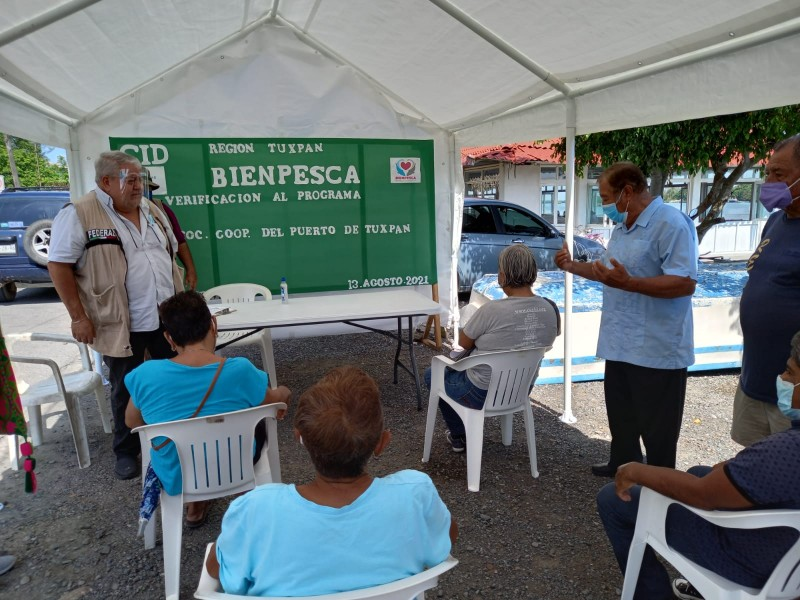 Cierran jornada de verificaciones de Bienpesca en Tuxpan