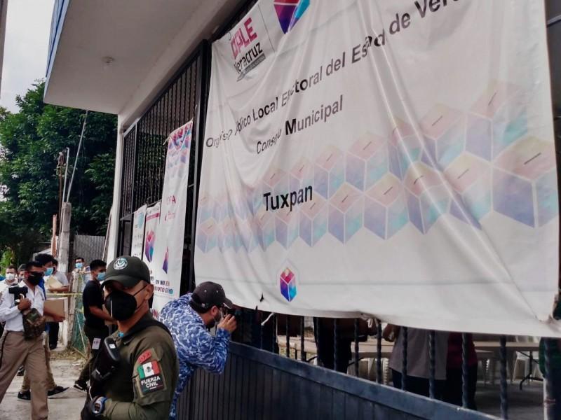 Cierran proceso de conteo en Tuxpan