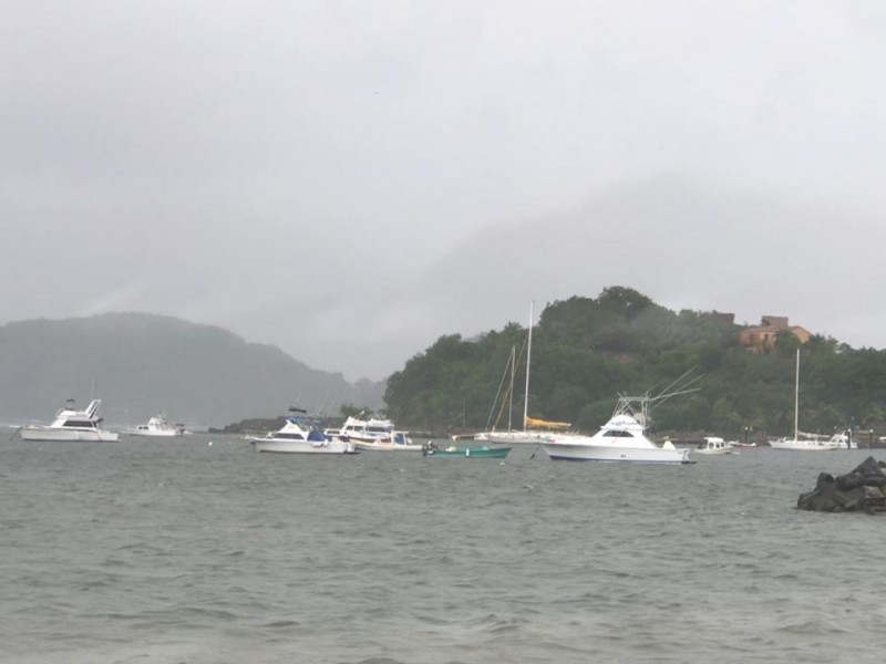 Cierran puerto por baja presión en el pacífico
