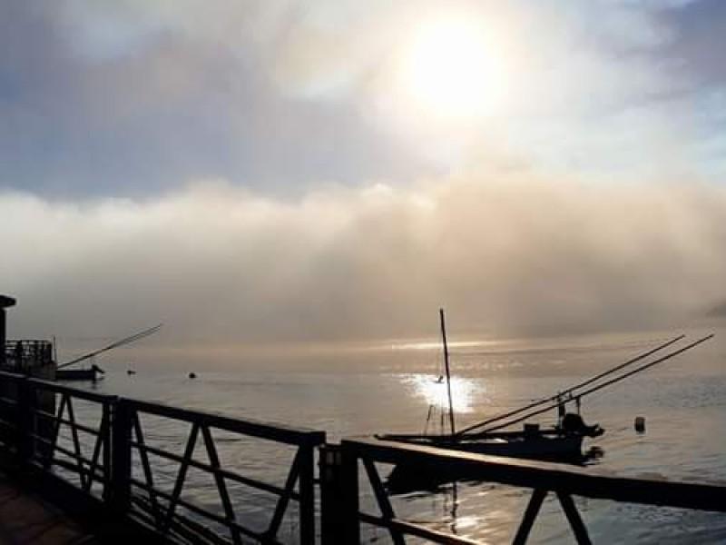 Cierran Puerto por niebla espesa que impide la navegación
