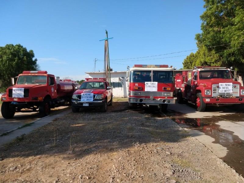 Cierran temporalmente bomberos de El Fuerte por falta de recursos