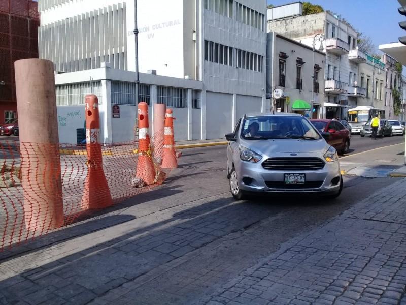 Cierran Zaragoza por trabajos de Grupo MAS