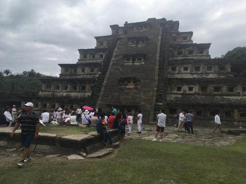 Cierran zona arqueología El Tajín por Coronavirus