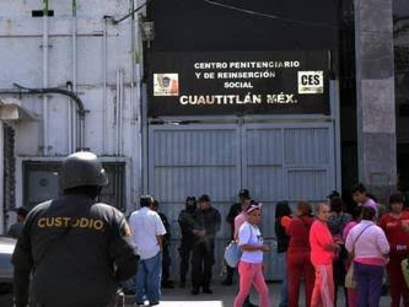 Cinco contagios de Covid-19 en penal de Cuautitlán