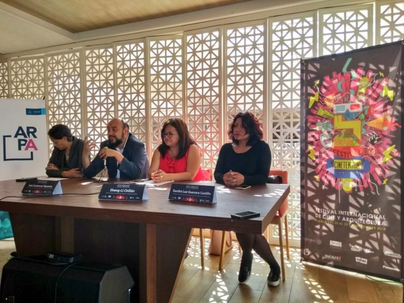 Cine y Arquitectura en el Festival CINETEKTON