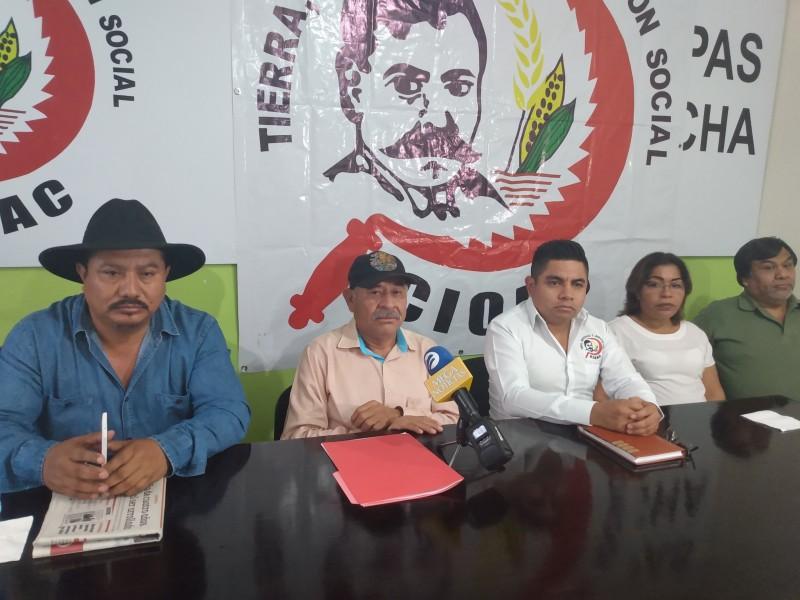 CIOAC anuncia movilizaciones para exigir demandas