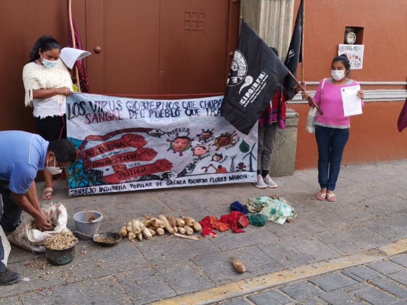 CIPO protesta en casa de Gobierno, existen atención a demandas