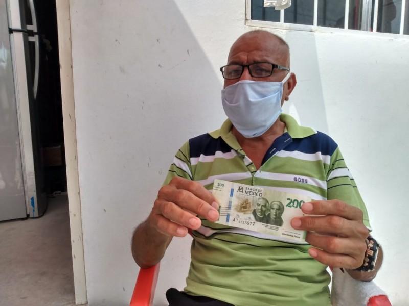 Circulan billetes falsos en Juchitán
