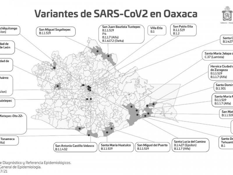 Circulan nuevas variantes de Covid-19 en Oaxaca