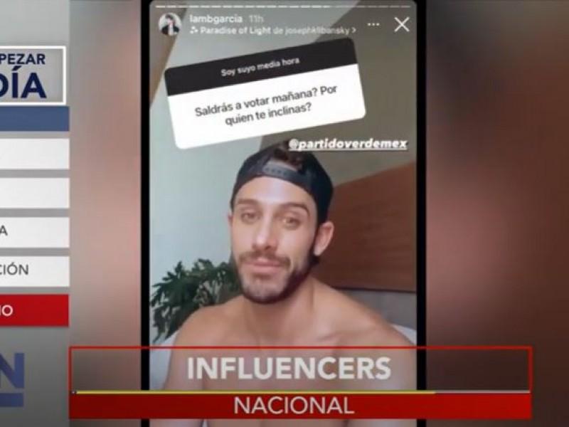 """Citan a """"influencers"""" por apoyo al PVEM en veda electoral"""