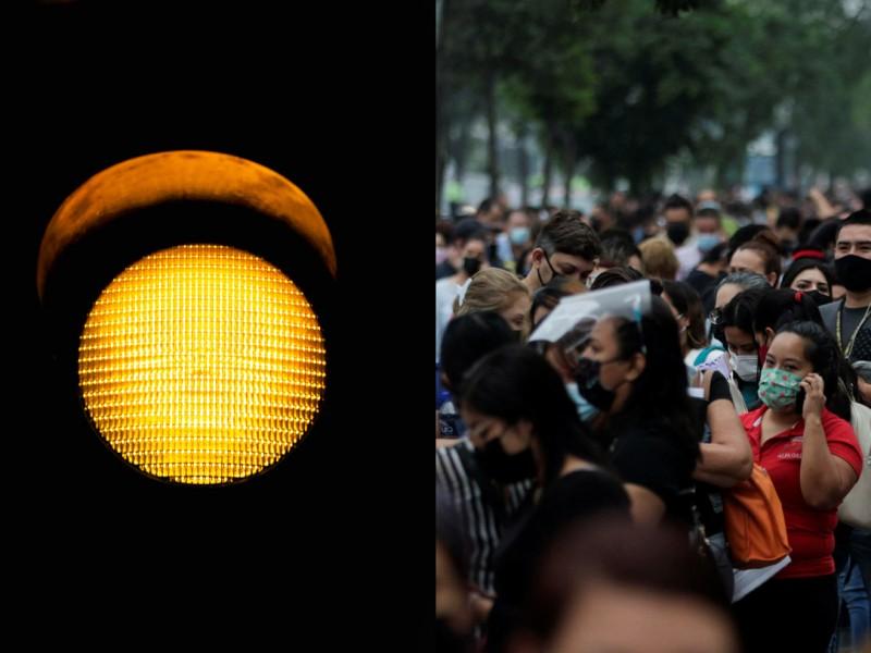 Ciudad de México pasa a semáforo amarillo por covid-19