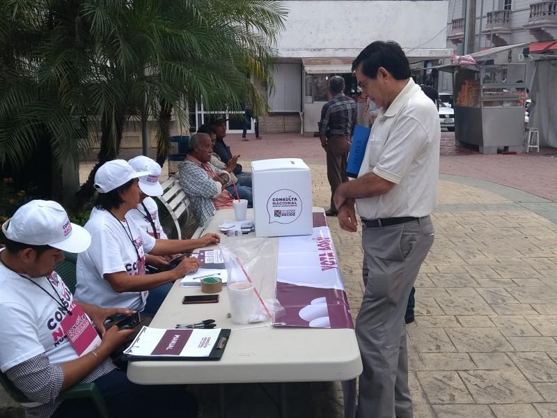 Ciudadanía participa en consulta del NAIM