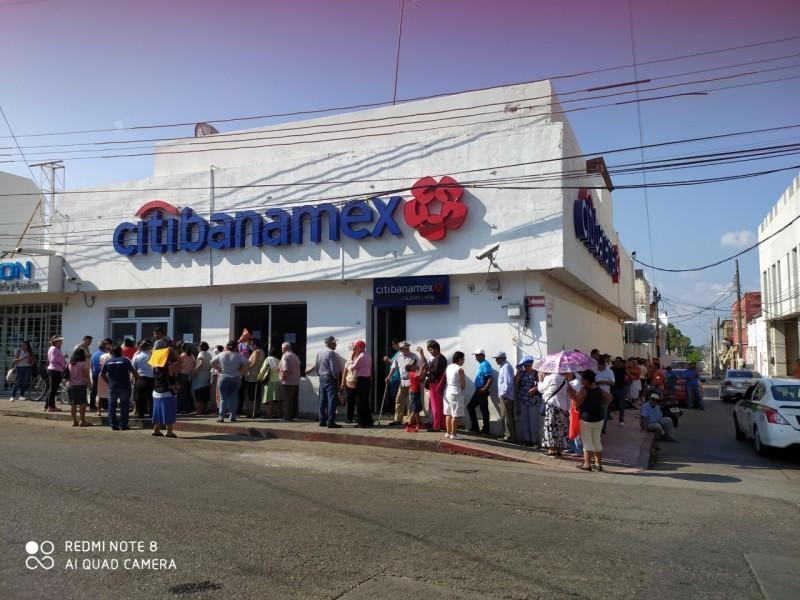 Ciudadanía sin respetar la sana distancia en Chiapas