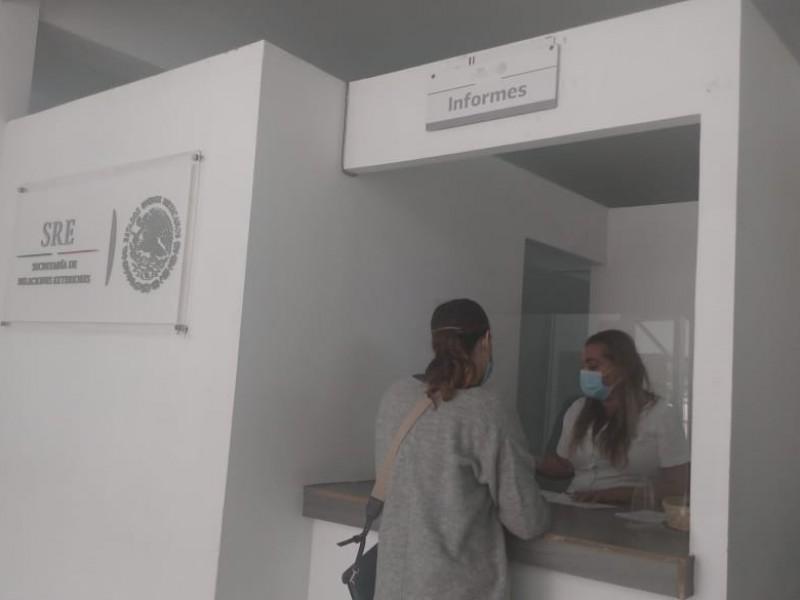 Ciudadanos califican como ágil, trámites en la Secretaría Relaciones Exteriores