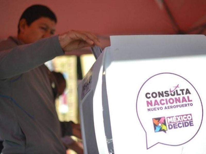 Ciudadanos confían en consulta sobre NAIM