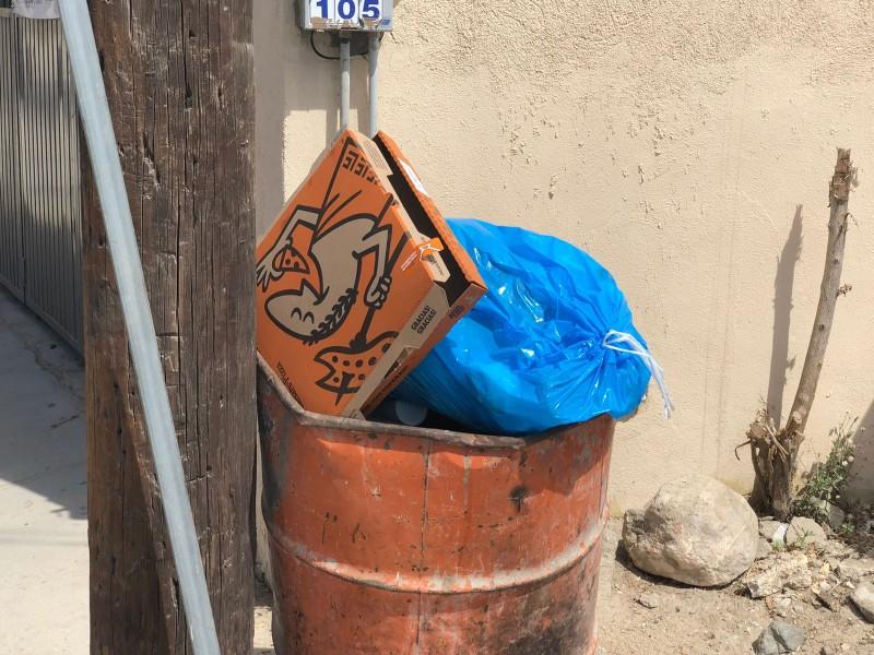 Ciudadanos denuncian retraso en la recolección de basura