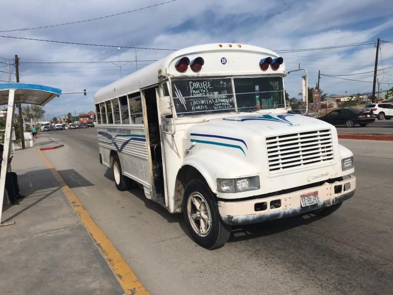 Ciudadanos exigen mejoras al transporte en CSL