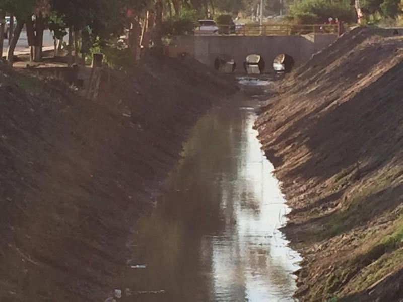 Ciudadanos limpian dren Álamo para evitar inundaciones