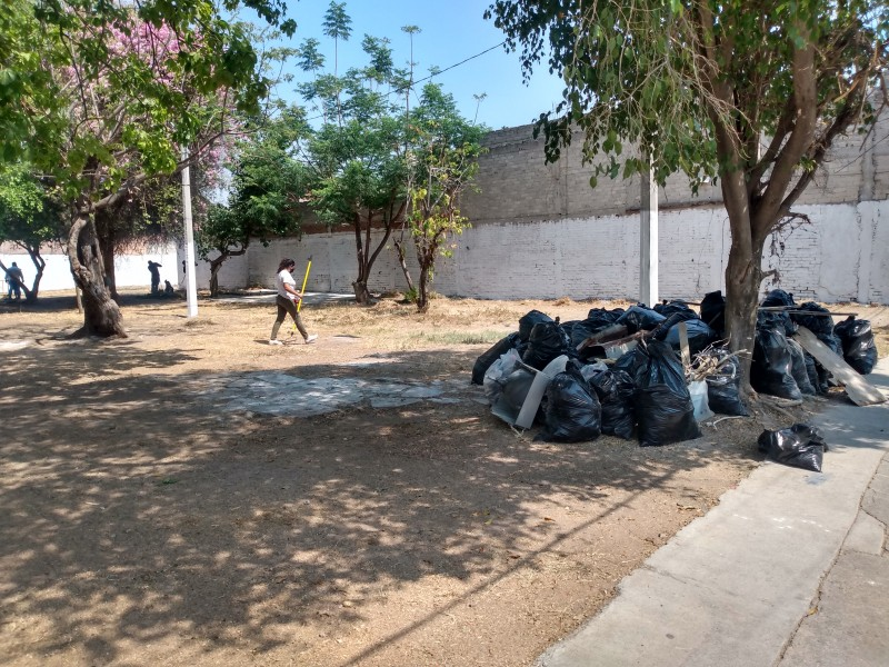 Ciudadanos piden mantener limpias las áreas de donación