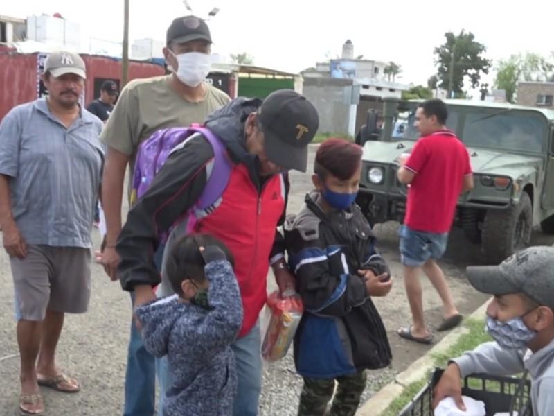 Ciudadanos se organizan para apoyar a ''La Rueda''