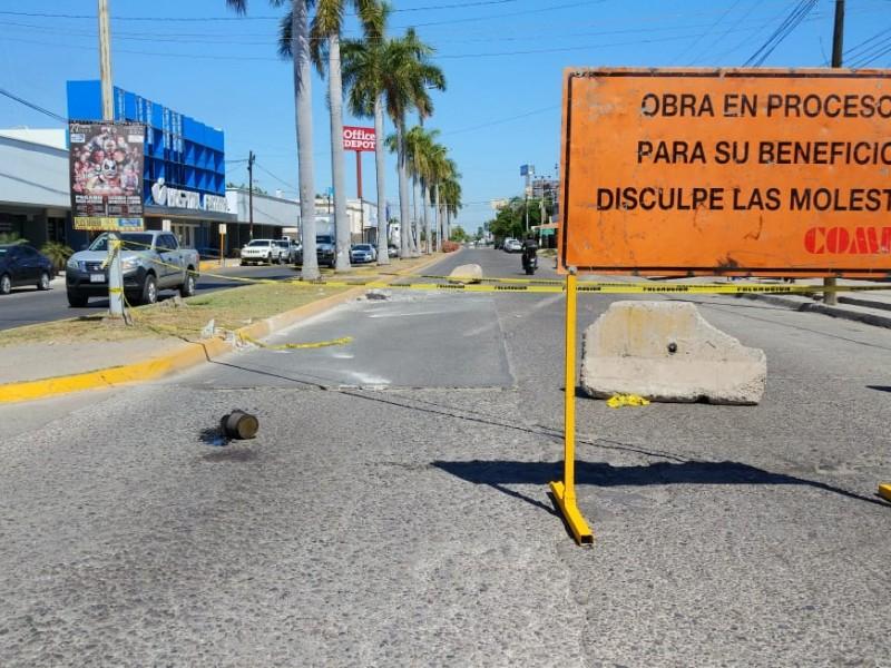 Ciudadanos se quejan de mala señalización en obras