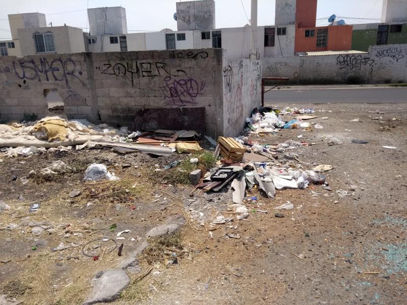 Ciudadanos son responsables de basura en calles