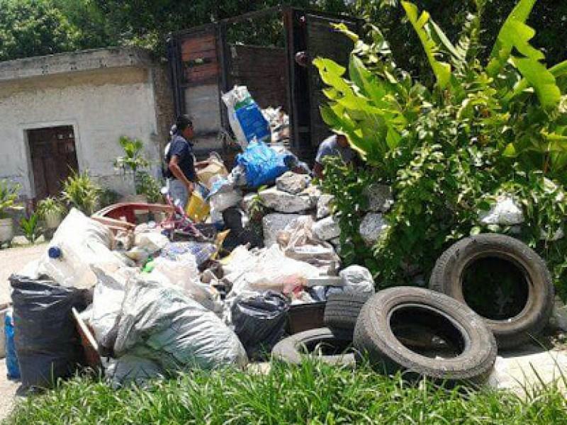 Ciudadanos tepicenses generan más de mil toneladas de cacharros