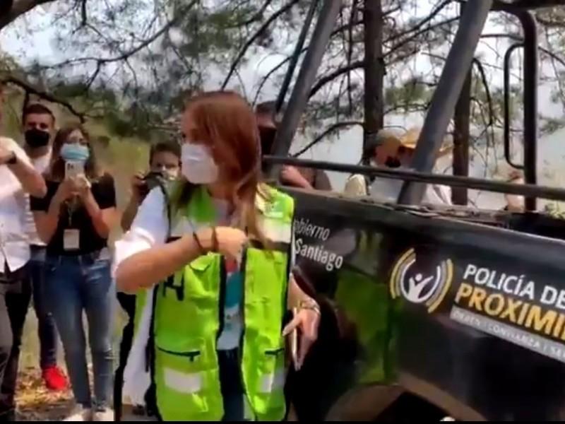 Clara Luz, candidata de Morena en NL se transforma #LadyIncendios