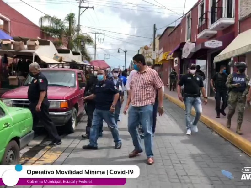 Clausuran negocios del centro histórico por desacato preventivo ante COVID-19