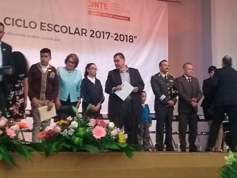 Clausura SEJ el ciclo escolar 2017-2018