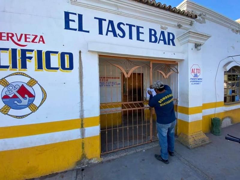 Clausuran bares clandestinos en Huatabampo