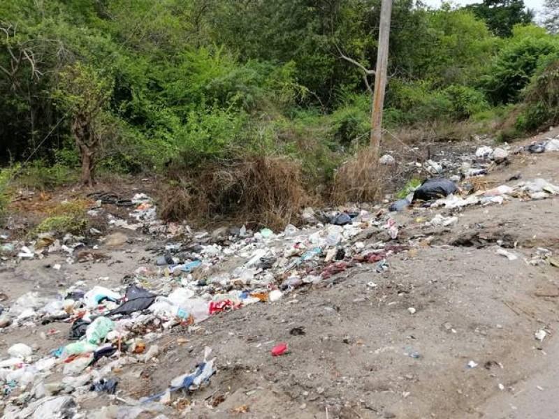 Clausuran basurero clandestino en Tapachula