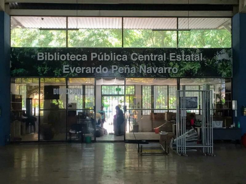 Clausuran biblioteca de la Alameda