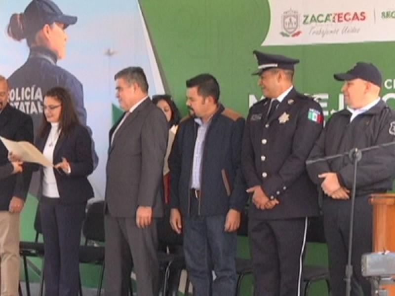 Clausuran diplomado de manejo para mujeres policías