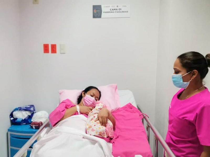 Clínica de Parto Humanizado atiende primer nacimiento en TGZ