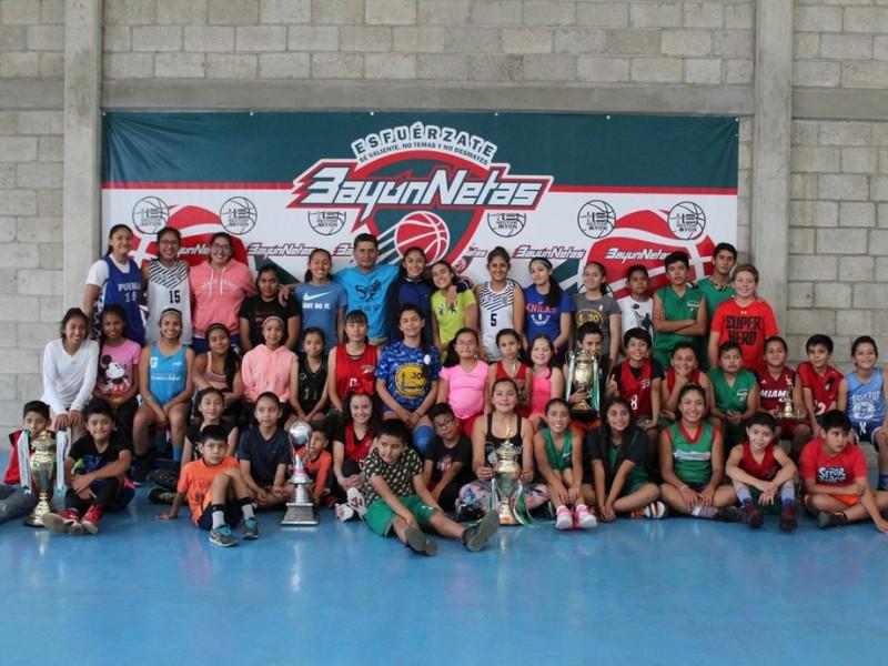 Club Bayón Netas, promoviendo baloncesto en Puebla