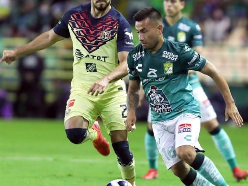 Club León deja escapar vivo al América