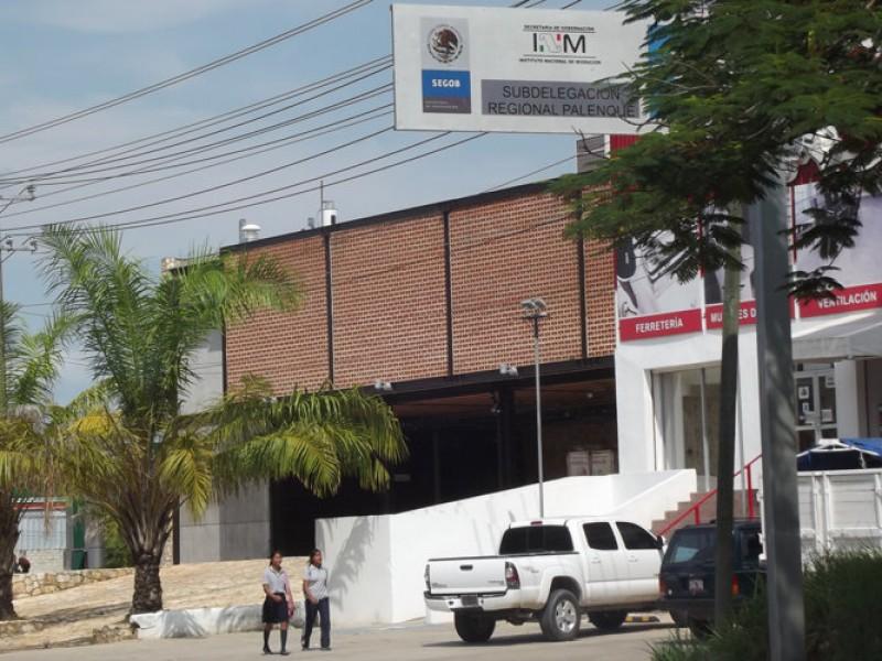 CNDH denuncia hacinamiento en estación migratoria