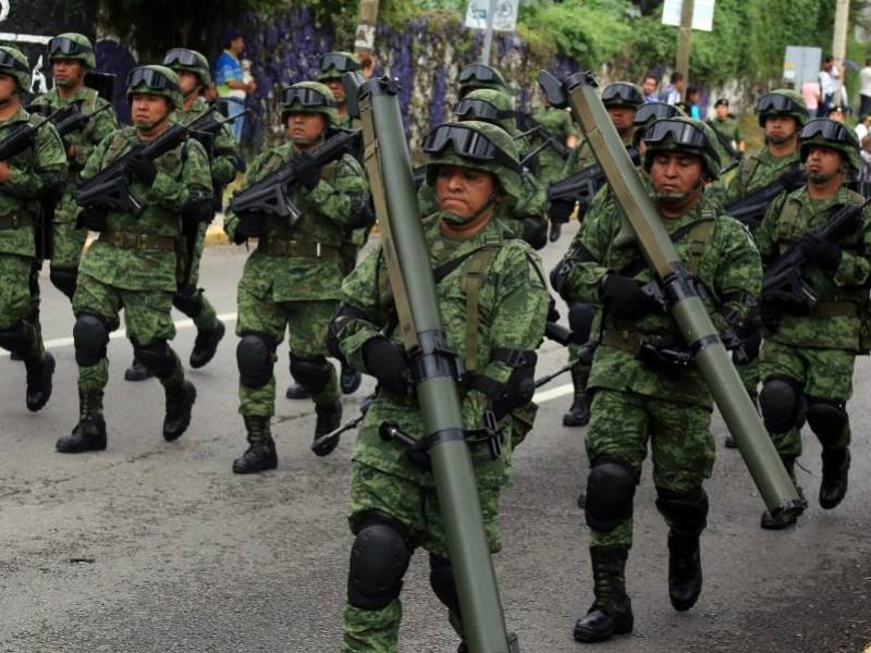 CNDH exhorta al Congreso regular participación de Fuerzas Armadas
