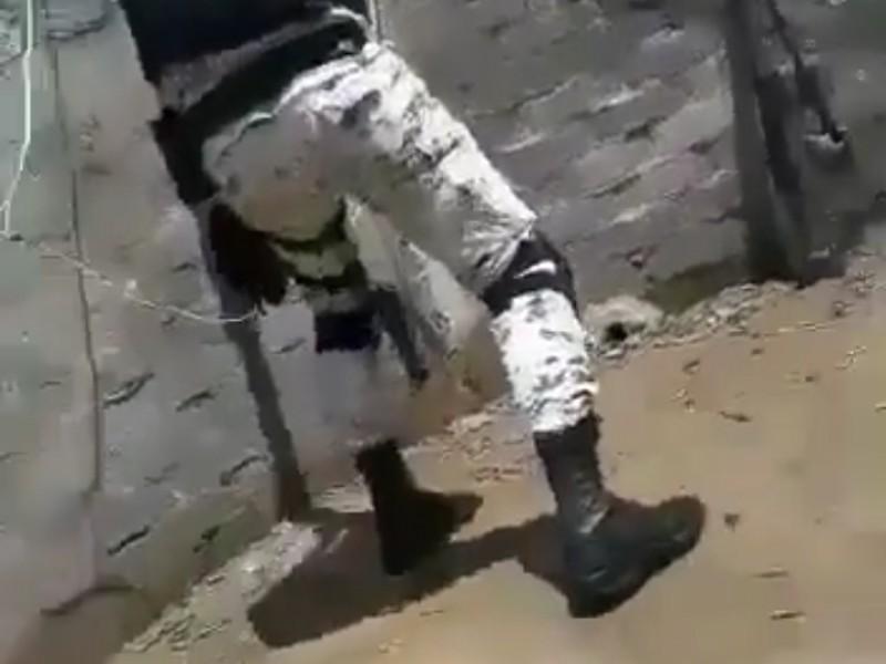 CNJG ataca a militares en frontera entre Jalisco y Michoacán