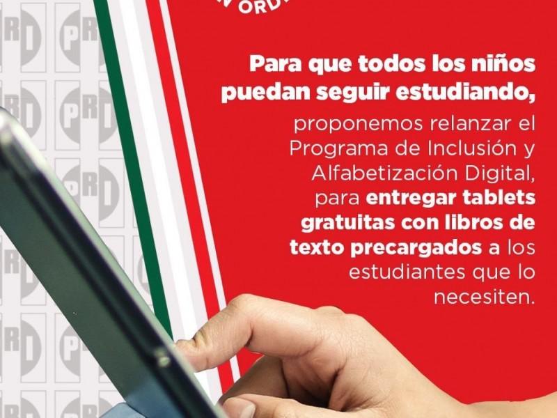 CNOP propone entregar tablets e internet gratuito a estudiantes