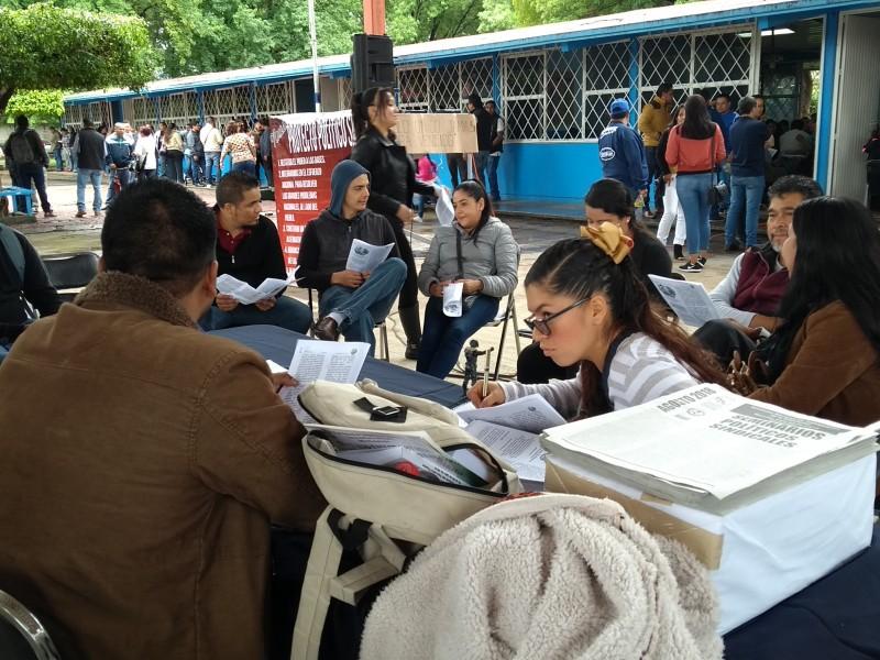 Exige CNTE cumplir demandas previo a clases