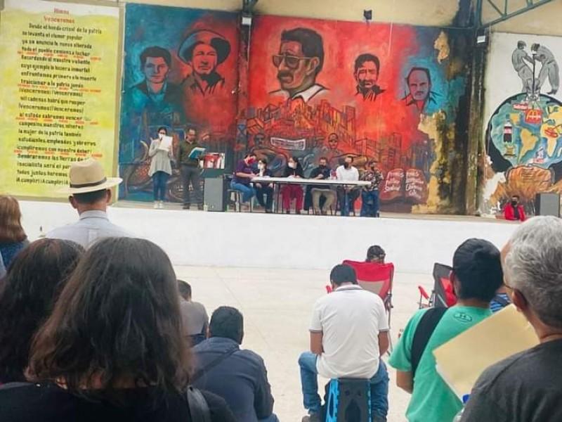 CNTE insiste en rechazar retomar clases hasta que les paguen