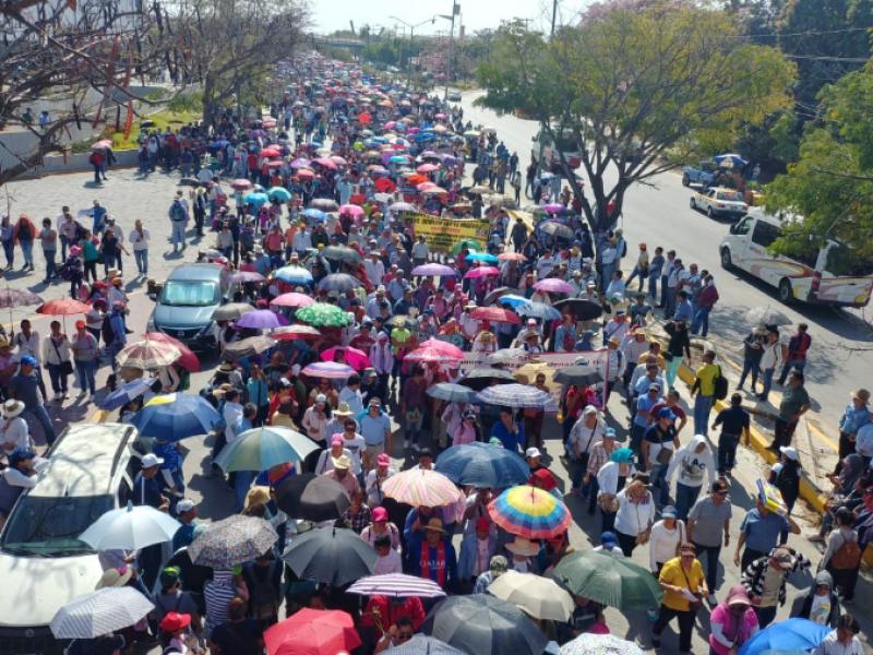CNTE marcha piden abrogación de Reforma Educativa