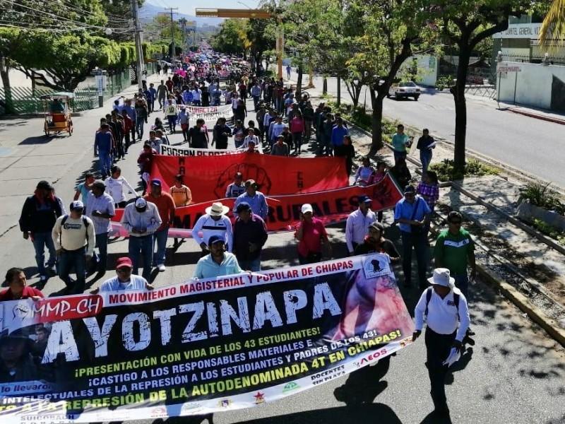 CNTE prepara marcha. Ya analizan regreso a clases presenciales