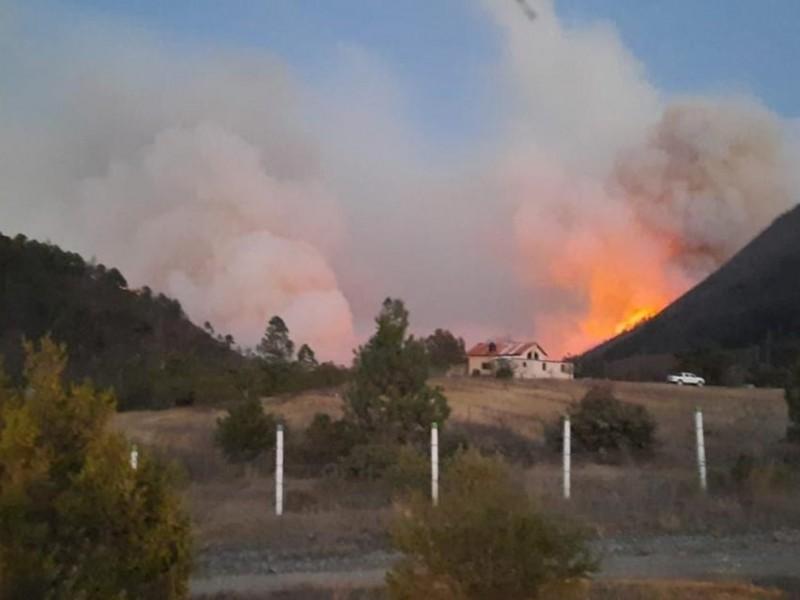 Coahuila busca declararse en estado de emergencia por incendio