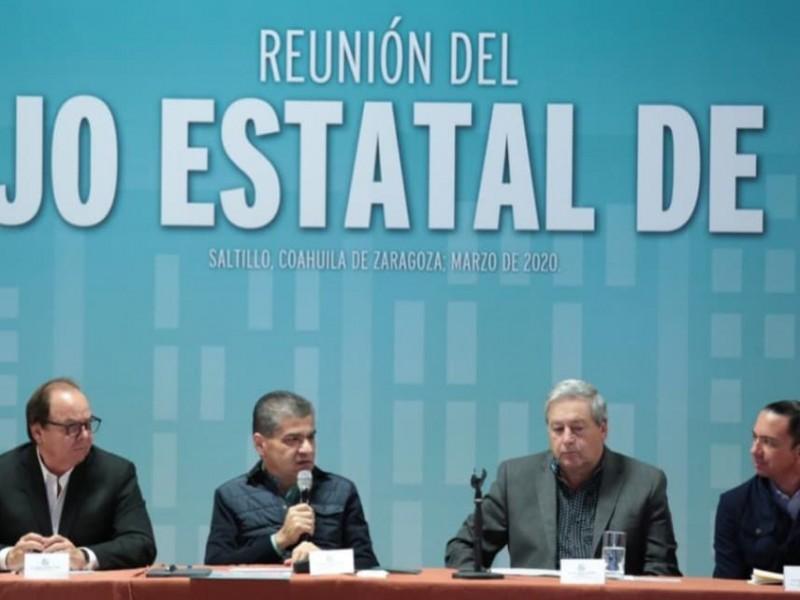Coahuila ordena cierre de cines, antros y espacios públicos